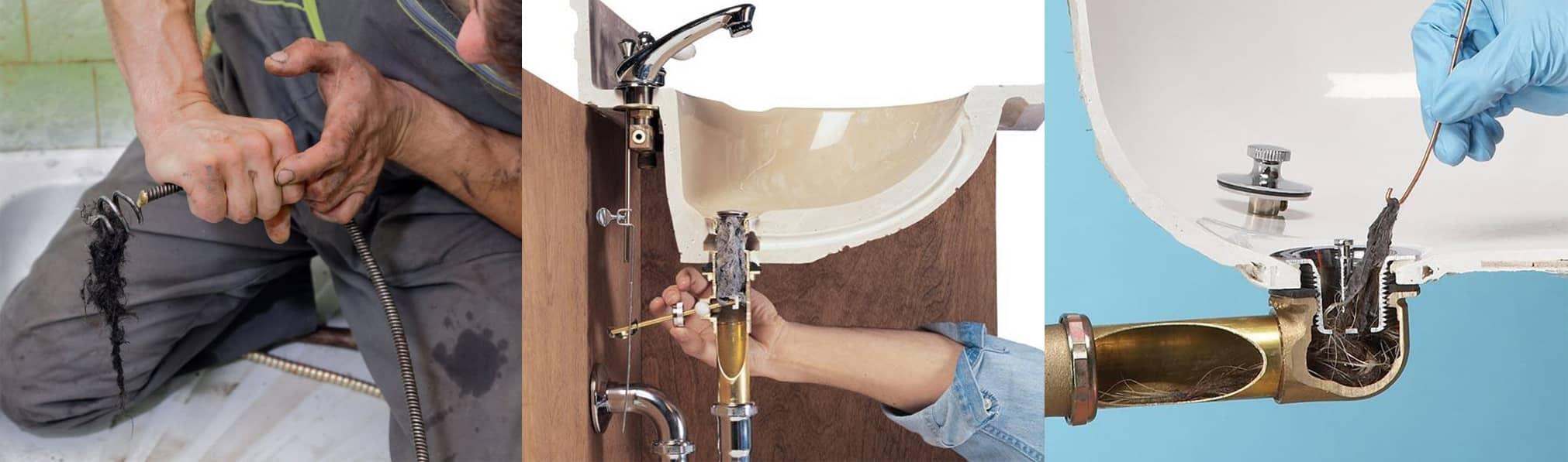 Débouchage douche évier lavabo baignoire