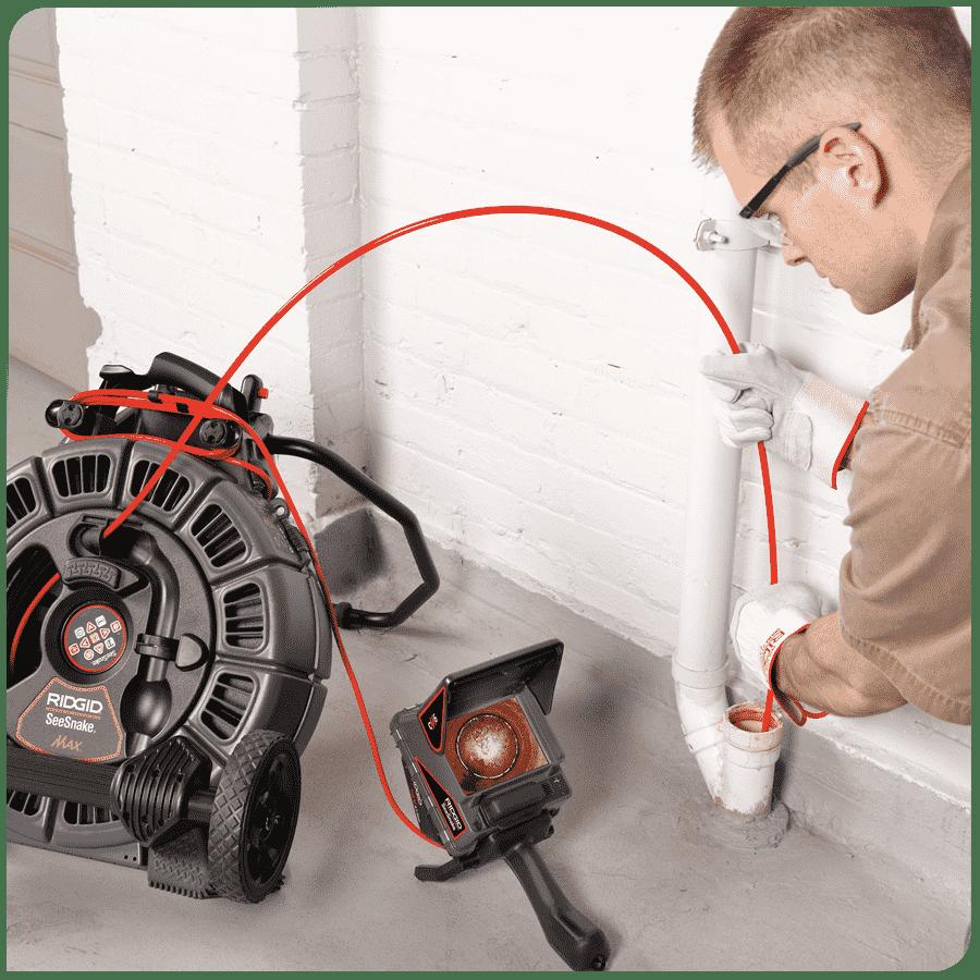 Inspection caméra canalisation